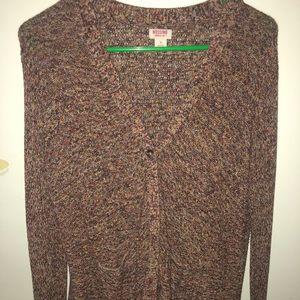 Mossimo Multi-thread cardigan